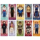 "Disney Store 10 Disney Princes 12"" Classic Doll Toy Collection Gift Set Including Prince Eric, Flynn Rider, The Beast, Prince Charming, The Prince, Prince Phillip, Prince Ali Ababwa (Aladdin), Prince Naveen, Captain John Smith and Li Shang Dolls"