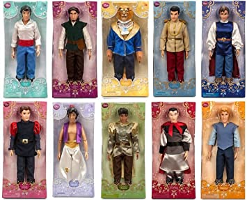 Disney Store 10 Princes 12quot Classic Doll Toy Collection Gift Set Including Prince Eric