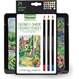 Crayola Gel Core Lead adult coloring, Assorted, 24 (68 2015)