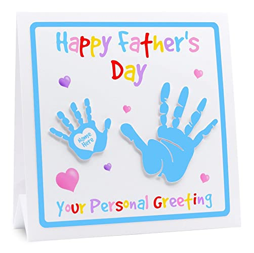 Personalised Fathers Day Card Father From Daughter
