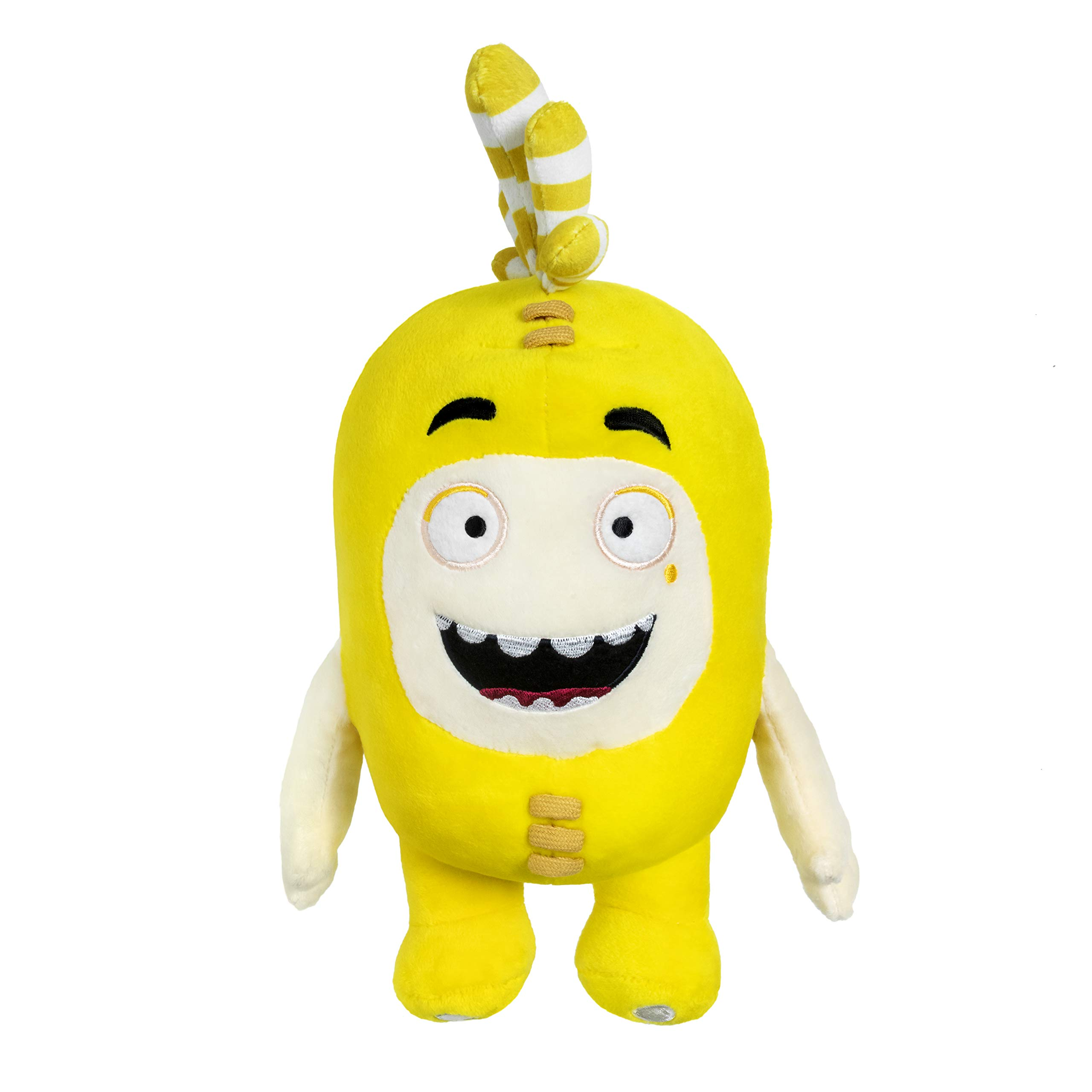 ODDBODS Bubbles Plush | 12'' Yellow Soft Toy Idea for Kids by ODDBODS