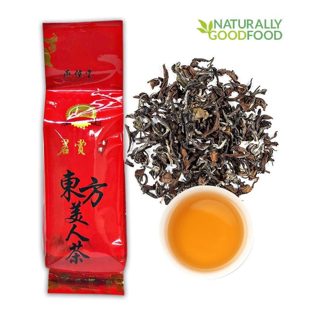 燕侯堂 有機台湾のタカンウーロン茶 東方美人茶 白烏龍 中度に焙煎する 半発酵茶ルーズティー