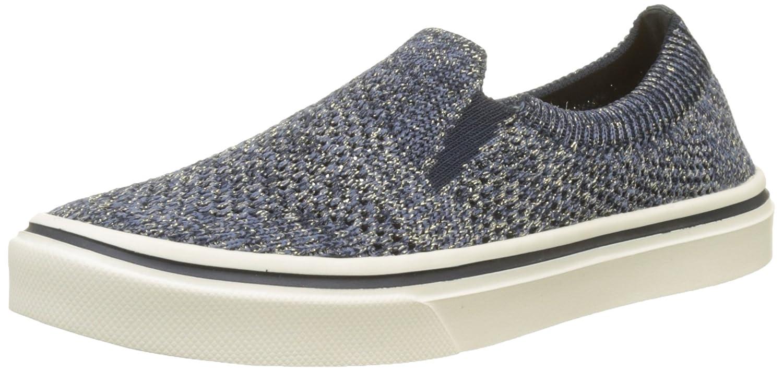 Tommy Hilfiger Knitted Light Weight Slip On, Zapatillas para Mujer 39 EU|Azul (Midnight 403)