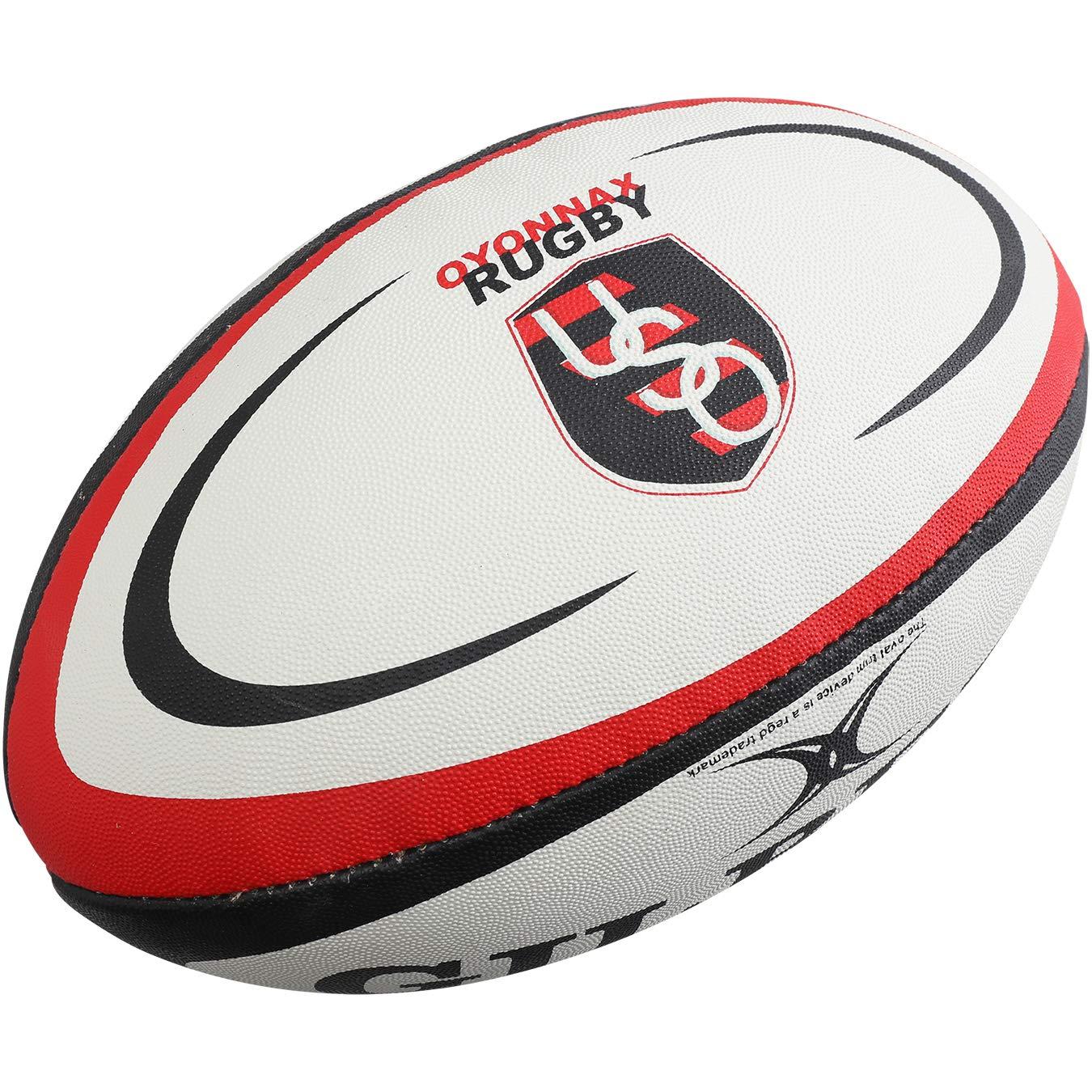 Gilbert Ballon Rugby - Oyonnax Mini 5024686276219
