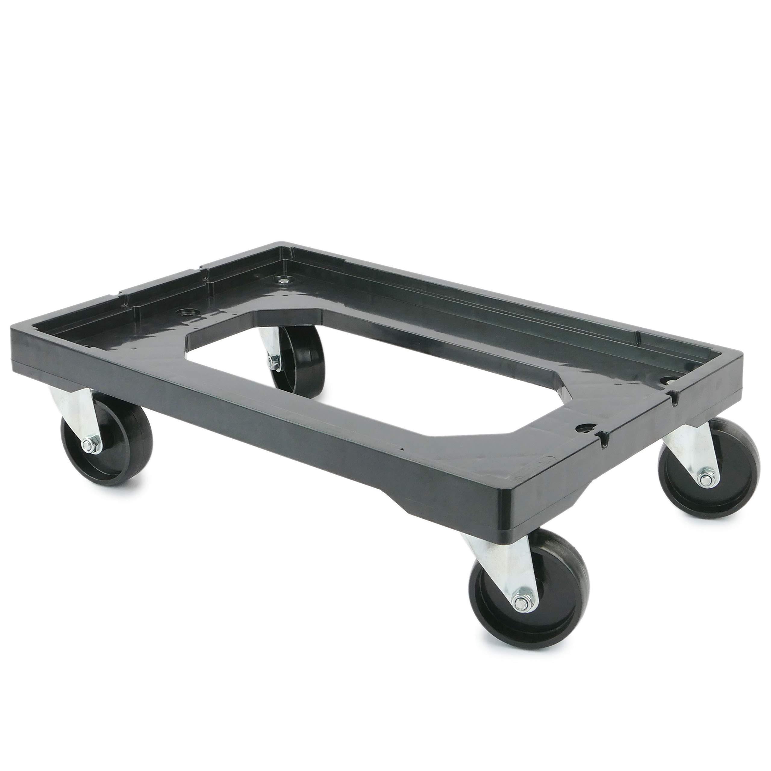PrimeMatik - Platform with Wheels for Carrying Eurobox Boxes 60 x 40 cm (KA081) by PrimeMatik (Image #1)