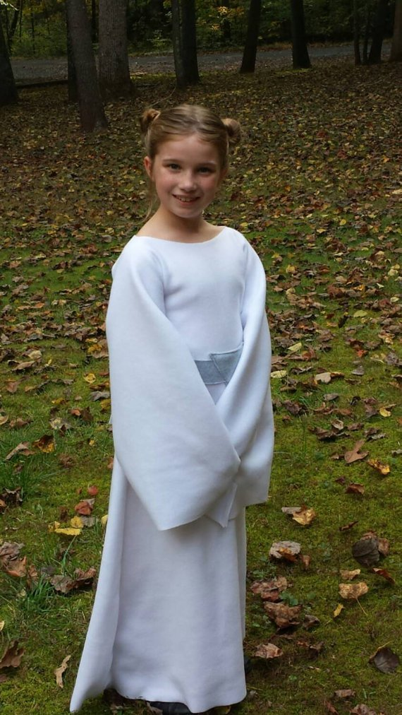 Baby Star Wars Princess Leia Costume Dress - Baby/Toddler/Kids/Teen/Adult Sizes