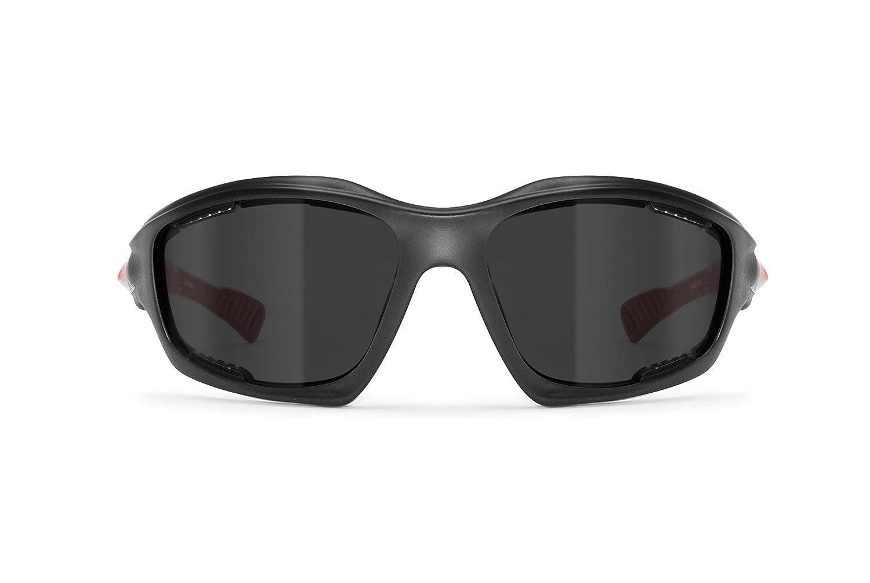 4eaac53b85a67 Gafas Deportivas Polarizadas Hidrofóbicas - Envolventes a Prueba de Viento  - para Ciclismo Carrera Deporte Acuaticos Ampliar imagen