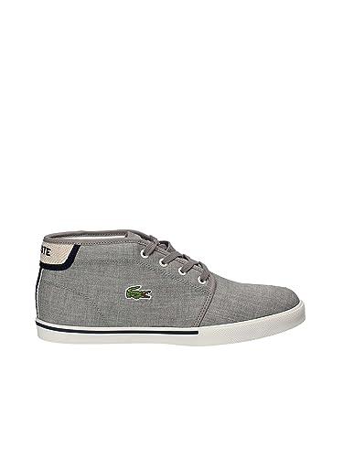 854d9166b5 Lacoste Ampthill 218 1 CAM Grey Navy 46.5: Amazon.fr: Chaussures et Sacs