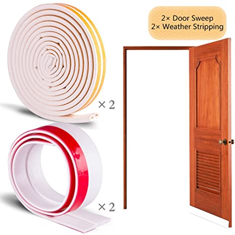 Nablue soundproof weather stripping door kit 395 lx 2 under door nablue soundproof weather stripping door kit 395quot lx 2 under door anti collision publicscrutiny Choice Image