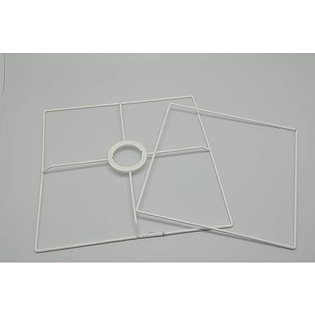 Ens. Frame Square Lampshade 20 cm - megacrea: Amazon.co.uk: Kitchen ...