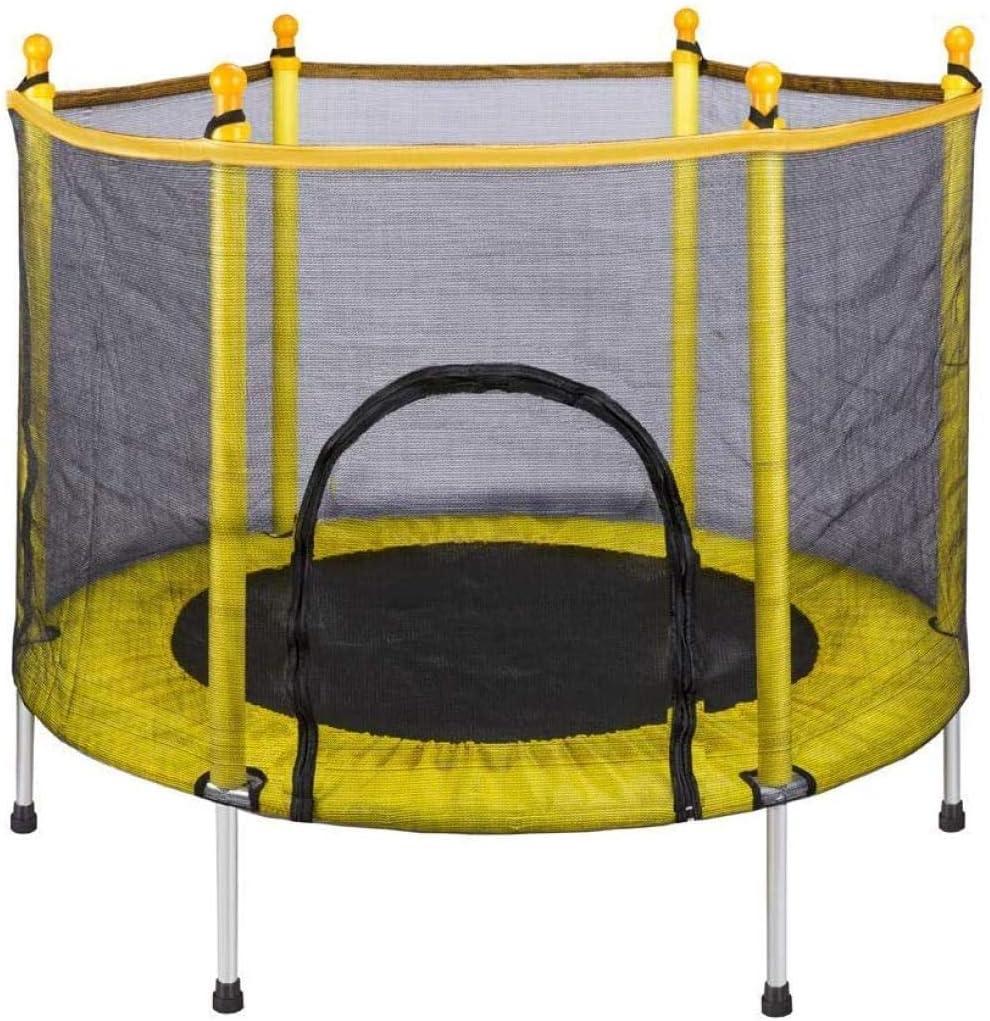 Trampolines Trampolín De 5 Pies para Niños con Colchoneta De Malla para Saltar Y Trampolín Acolchado con Cubierta De Resorte para Saltar Trampolín De Interior Al Aire Libre para Artistas De La Es
