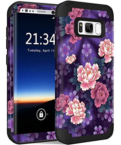 Amazon.com: Funda para Galaxy S8 Plus, carcasa de silicona ...