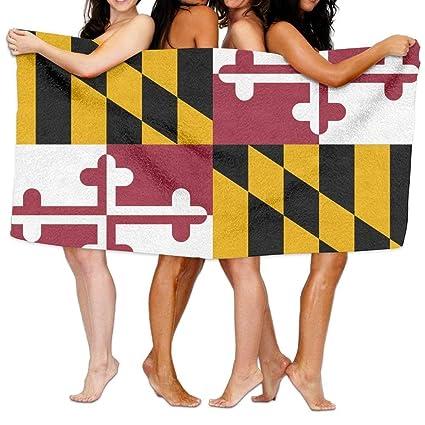 Amazon.com: Beach Towel Flag Of Maryland 80