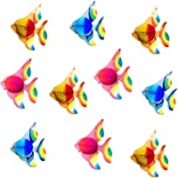 GLOBALDREAM Peces tropicales de papel, 10 piezas Tallado