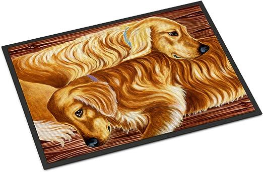 Carolines Treasures Pass The Soap Dalmatian Floor Mat 19 x 27 Multicolor