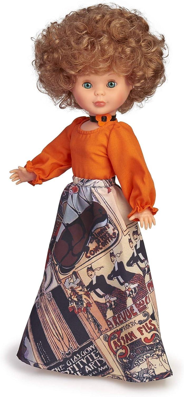 Nancy- Reedición Tusset 1975, muñeca (Famosa 700015899)