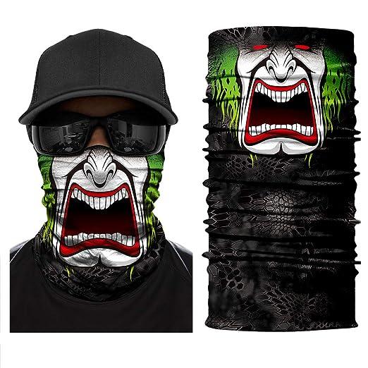 Face Shield Fishing Mask Scarf Neck Gaiter Sun  Headwear Bandana Balaclava UV
