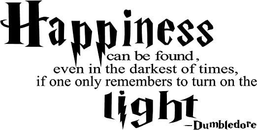 com dumbledore happiness can be found harry potter vinyl