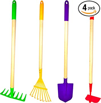 Amazon Com G F Products Justforkids Kids Garden Tool Set Toy