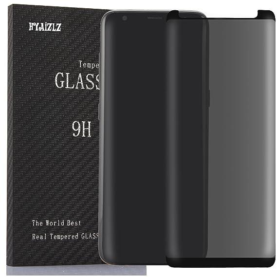 official photos f3161 9080d Amazon.com: Galaxy S9 Plus Privacy Screen Protector,HYAIZLZ(TM) 9H ...