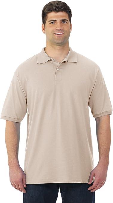 Jerzees 5, 6 oz. 50/50 de la Hombres Jersey Polo con Spotshield ...