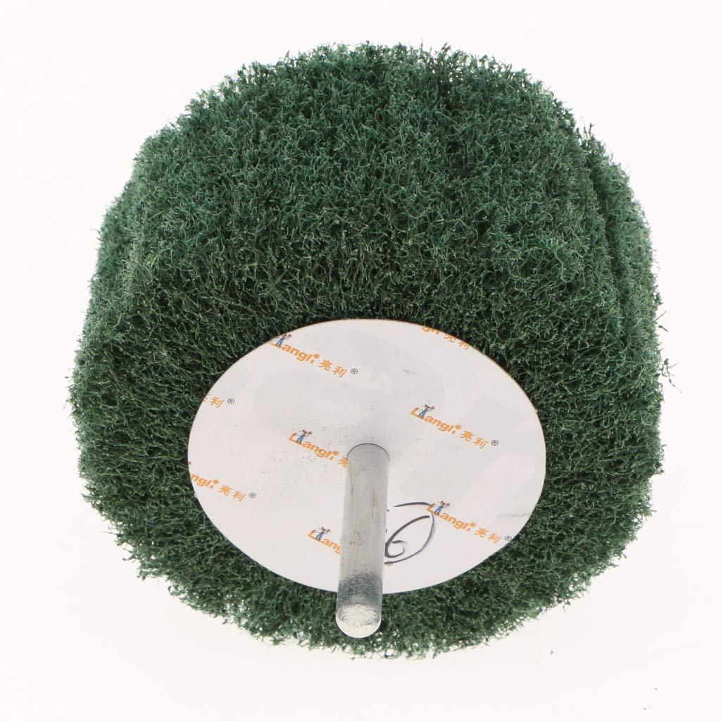 Sharplace Disque Abrasif /à Lamelles de polissage Roues Meules disque de pon/çage 80 /× 25 /× 6 rouge