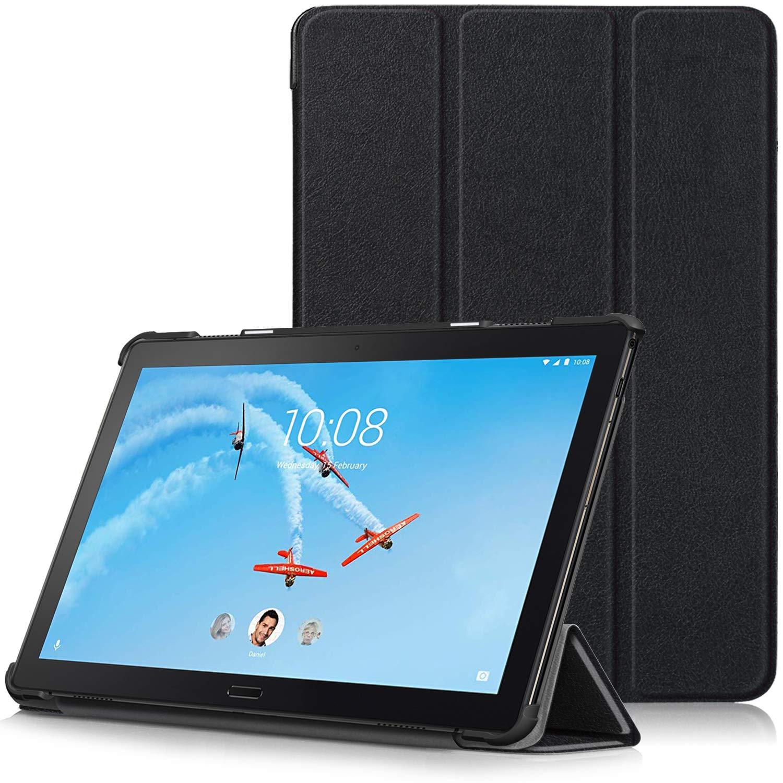 TTVie Funda para Lenovo Tab P10, Carcasa Ultra Delgado y Ligero con Cubierta de Soporte y Función Auto-Sueño/Estela para Lenovo P10 - Tablet 25,6 cm ...