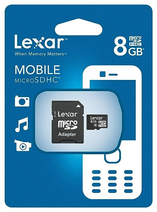 Lexar LSDMI8GBABEUC6A - Tarjeta de Memoria Micro SD de 8 GB ...