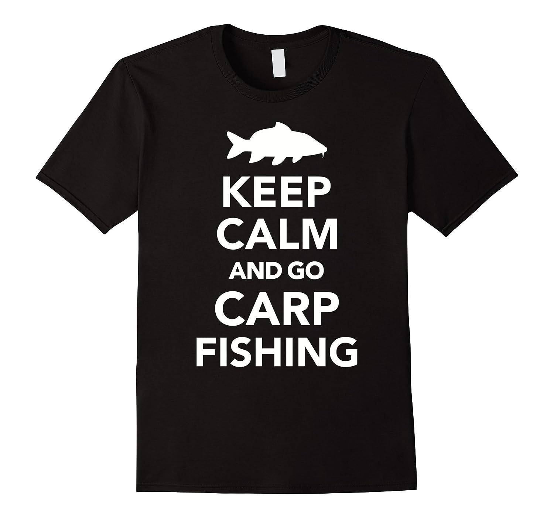 Keep Calm and Go Carp Fishing Men T-shirt Ieuxco