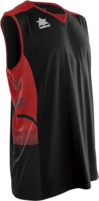 Luanvi Atlas - Camiseta de Tirantes Deportiva de Basket Unisex Adulto: Amazon.es: Ropa y accesorios
