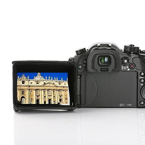 Movo LH35 Capucha Cubierta Lujosa LCD para Pantallas Giratorias de ...