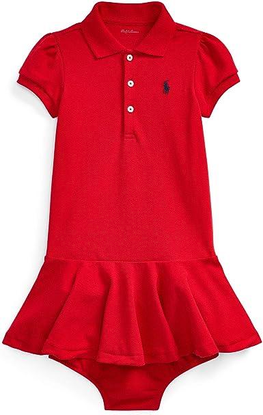 Ralph Lauren baby Girls Cotton Polo short Sleeve Top size 18 month