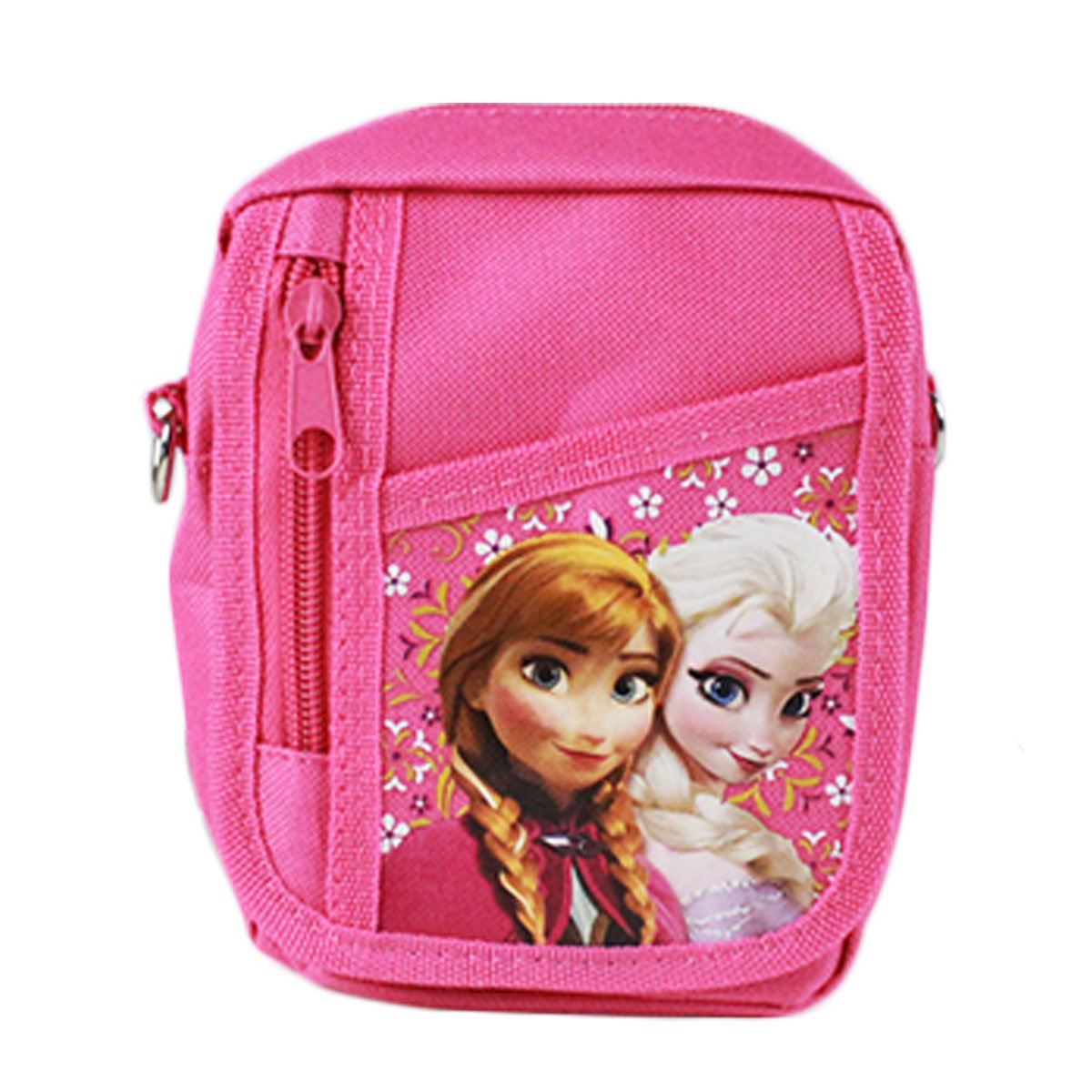 Licensed Disney Adjustable Strap Belt Loop Mini Purse - Anna and Elsa