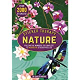 Sticker Therapy Nature: Follow the Numbers to Complete 12 Meditative Sticker Puzzles (Advanced Sticker Book)