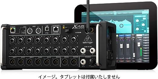 Behringer - X air xr18 mezclador digital: Amazon.es: Instrumentos ...