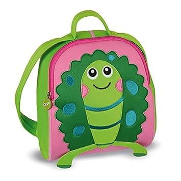 Oops Little Helper - Mochila infantil de neopreno (impermeable), diseño de tortuga: Amazon.es: Juguetes y juegos
