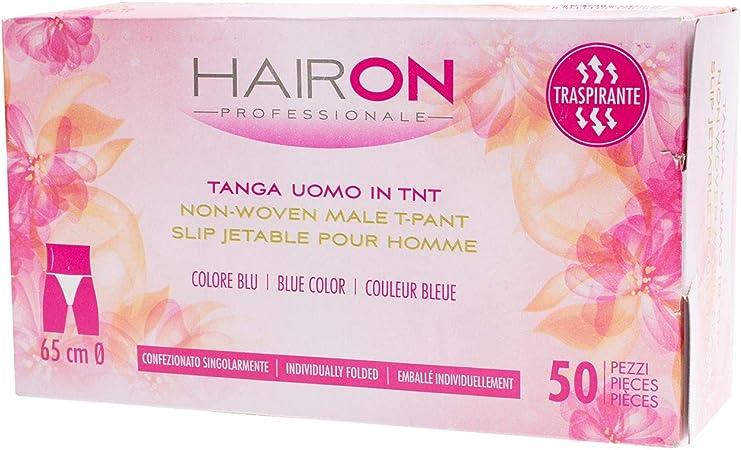 HAIRON Calzoncillos desechables para hombre en paquete elástico no tejido de 50 piezas 4074