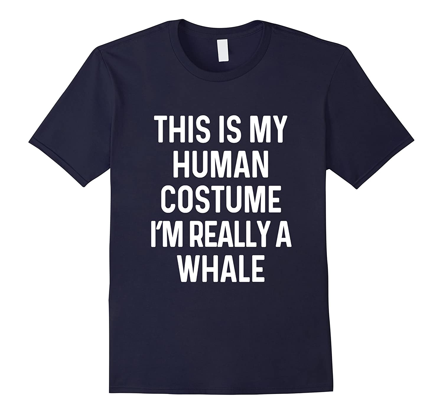 Funny Whale Costume Shirt Halloween Adults Kids Men Women-T-Shirt