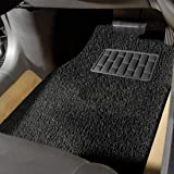 Autofurnish Anti Skid Curly Car Foot Mats (Black) Universal