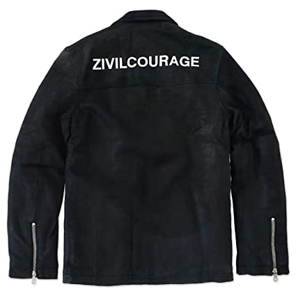 adidas ORIGINALS LEDERJACKE NEIGHBORHOOD ZIVIL COURAGE