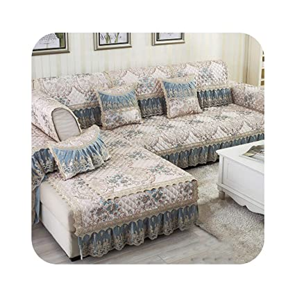 Sensational Amazon Com Creative Floral Sofa Covers For Sectional Sofa Gmtry Best Dining Table And Chair Ideas Images Gmtryco