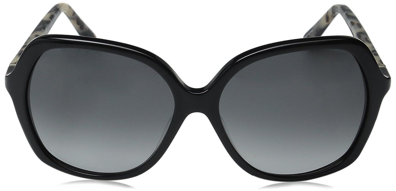 f8ea1c85f6ff Amazon.com: Kate Spade Women's Jonell Square Sunglasses, Black Havana/Gray  Gradient, 58 mm: Clothing