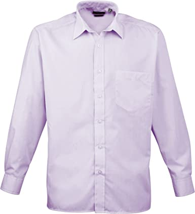 Camisa de manga larga de popelina prémium