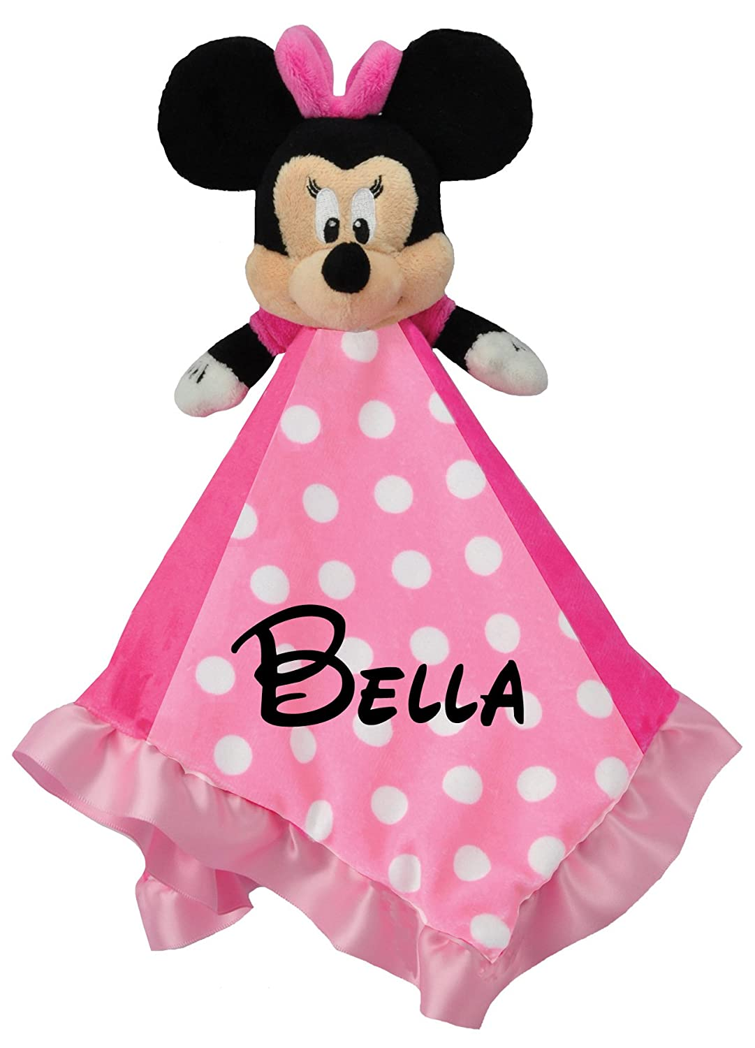 Amazoncom Personalized Disney Minnie Mouse Baby Snuggle Blanky