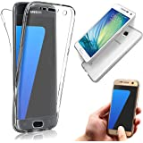 Galaxy S4 Case [Non-slip],Vandot Shockproof Ultra Thin Slim Fit Soft TPU Silicone All Round Front and Back Full Body 360 Degree Protective Case Cover For Samsung Galaxy S4 I9500 I9505-Transparent Clear