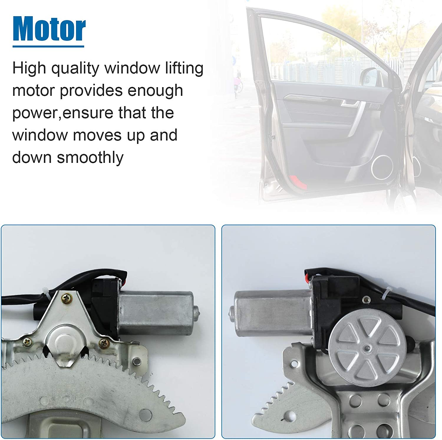 741-721 Power Window Regulator and Motor Assembly Driver Side Front Left for 1997 1998 1999 2000 2001 Toyota Camry Replacement