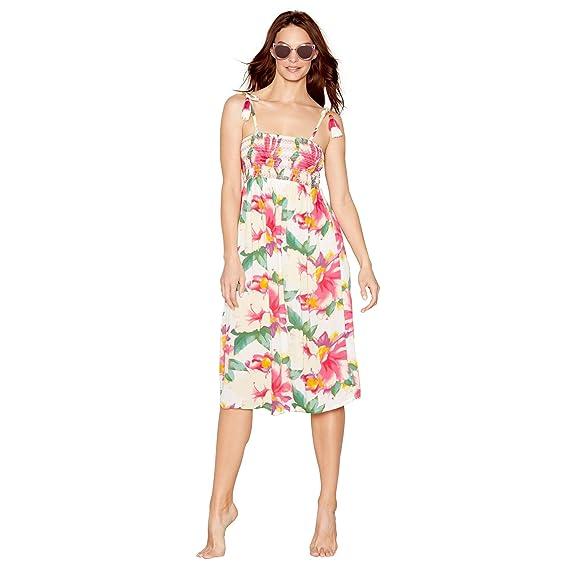 30afa452c Mantaray Hibi Tassle Tie Midi Dress  Mantaray  Amazon.co.uk  Clothing