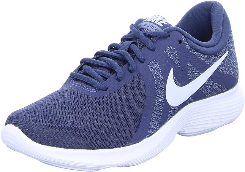 Nike Revolution 4, Zapatillas de Running para Mujer, Multicolor (Thunder Blue/Football Grey/Ashen Slate 404), 38 EU: Amazon.es: Zapatos y complementos