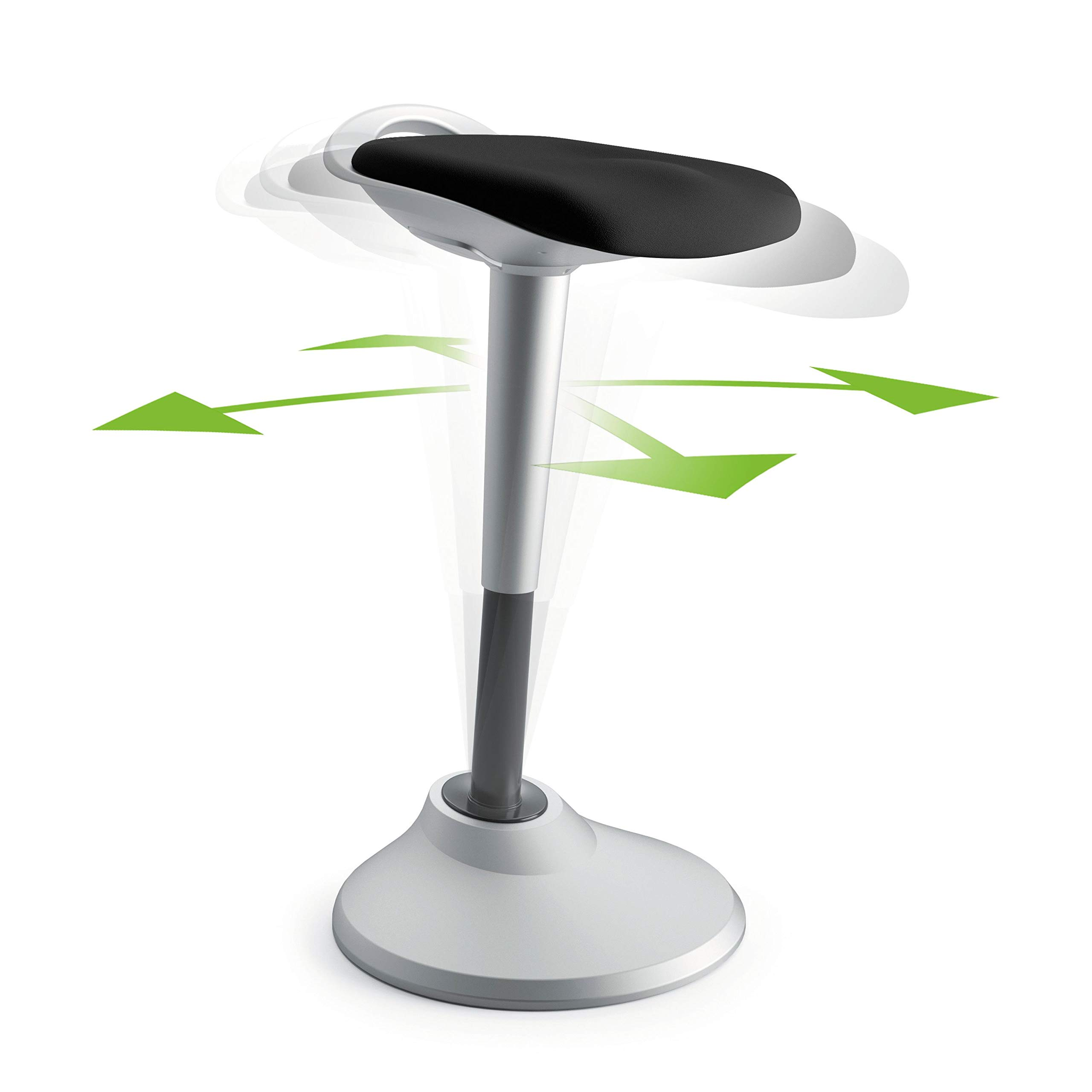 HON Perch Stool, Sit to Stand Backless Stool for Office Desk, Black (HVLPERCH) by HON (Image #7)
