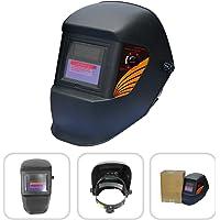 Todeco - Masque de Soudure Réglable, Masque avec Assombrissement Automatique - Matériau: Plastique (PP, PE) - Type de batterie: Batterie lithium , Noir
